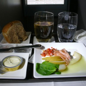 Review: Etihad Airways Business Class…Dine Anything, Anytime…
