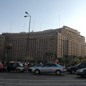 Then; picture of Tahrir Square; and the Future of Egypt Tourism