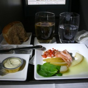 Photo Essay; Airline Food is the Best! - yup I've said it!