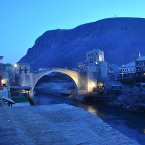 Photo of the Week: Twilight in Mostar