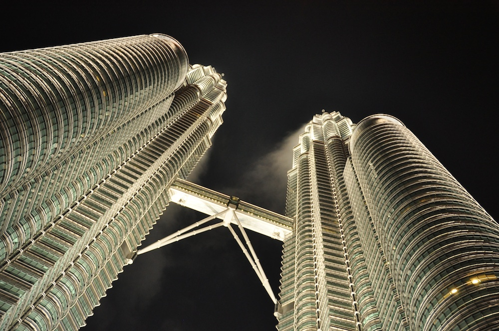 photo essay spectacular shots of petronas towers after a heavy  how