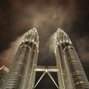 Photo Essay - Spectacular shots of Petronas Towers after a heavy downpour