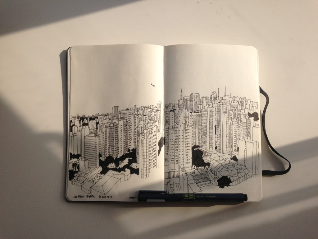 Amer @ TendToTravel sketch Sao Paulo