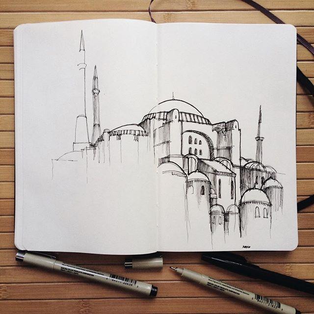 Hagia Sophia Istanbul by @ tendtotravel